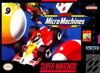 Micro Machines SNES