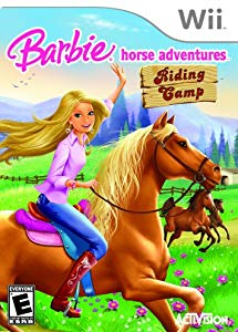 Barbie Horse Adventures; Riding Camp Wii Front Cover