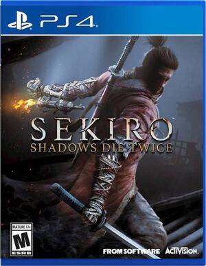 Sekiro Shadows Die Twice PS4 US