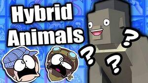 Hybrid Animals Steam Train