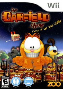 The Garfield Show Threat of the Space Lasagna