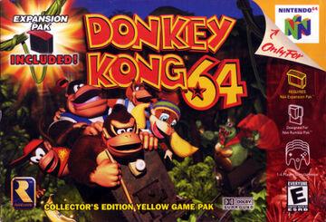 Donkey Kong 64 BA