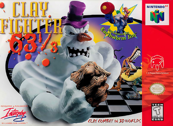 Clayfighter63⅓Cover