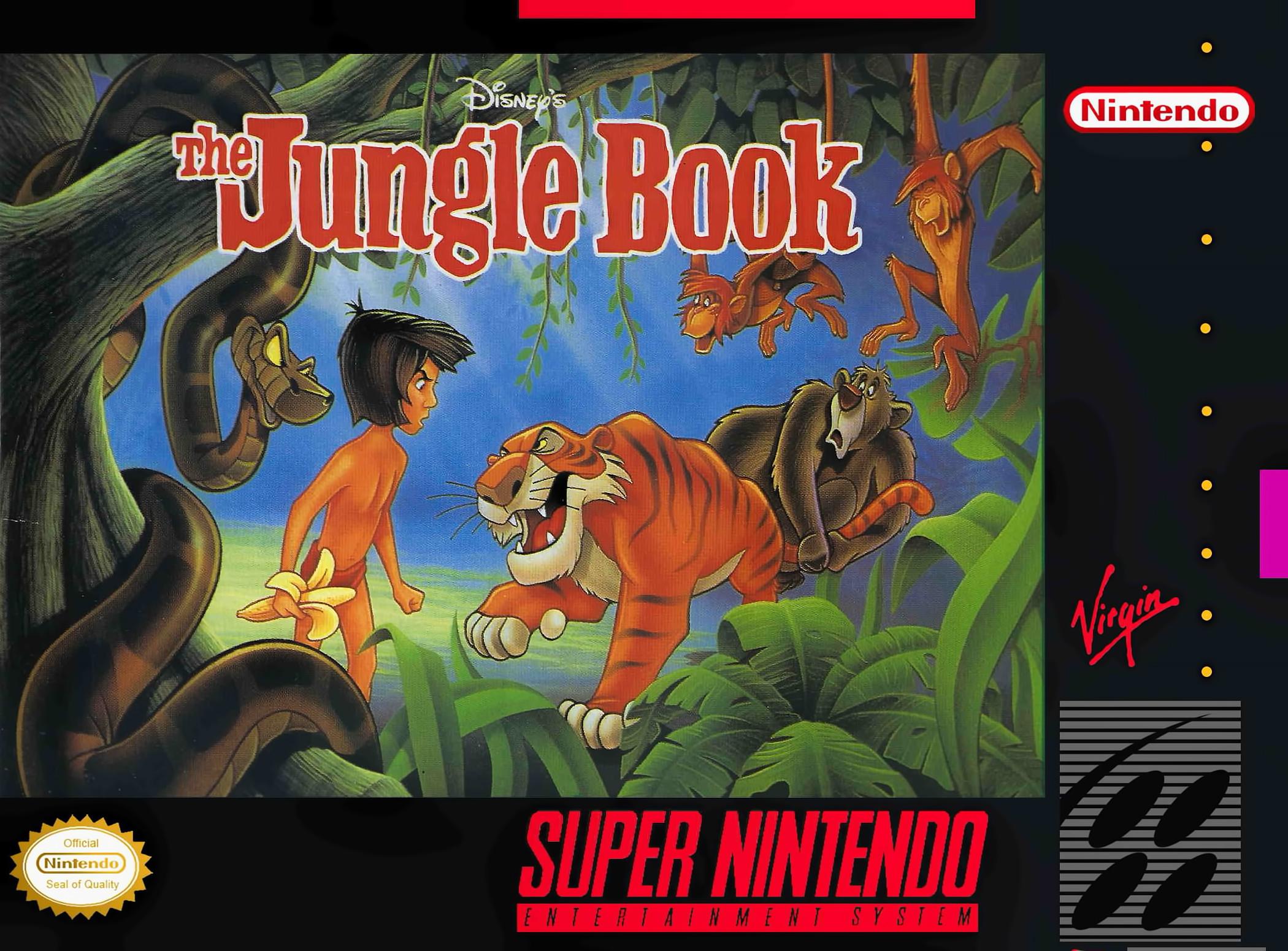 Gameboy color jungle book - The Jungle Book