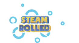 Steam Rolled Logo