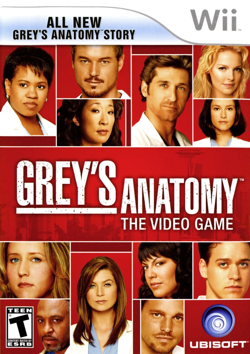 Image - Grey\'s Anatomy The Video Game Wii.jpg | Game Grumps Wiki ...