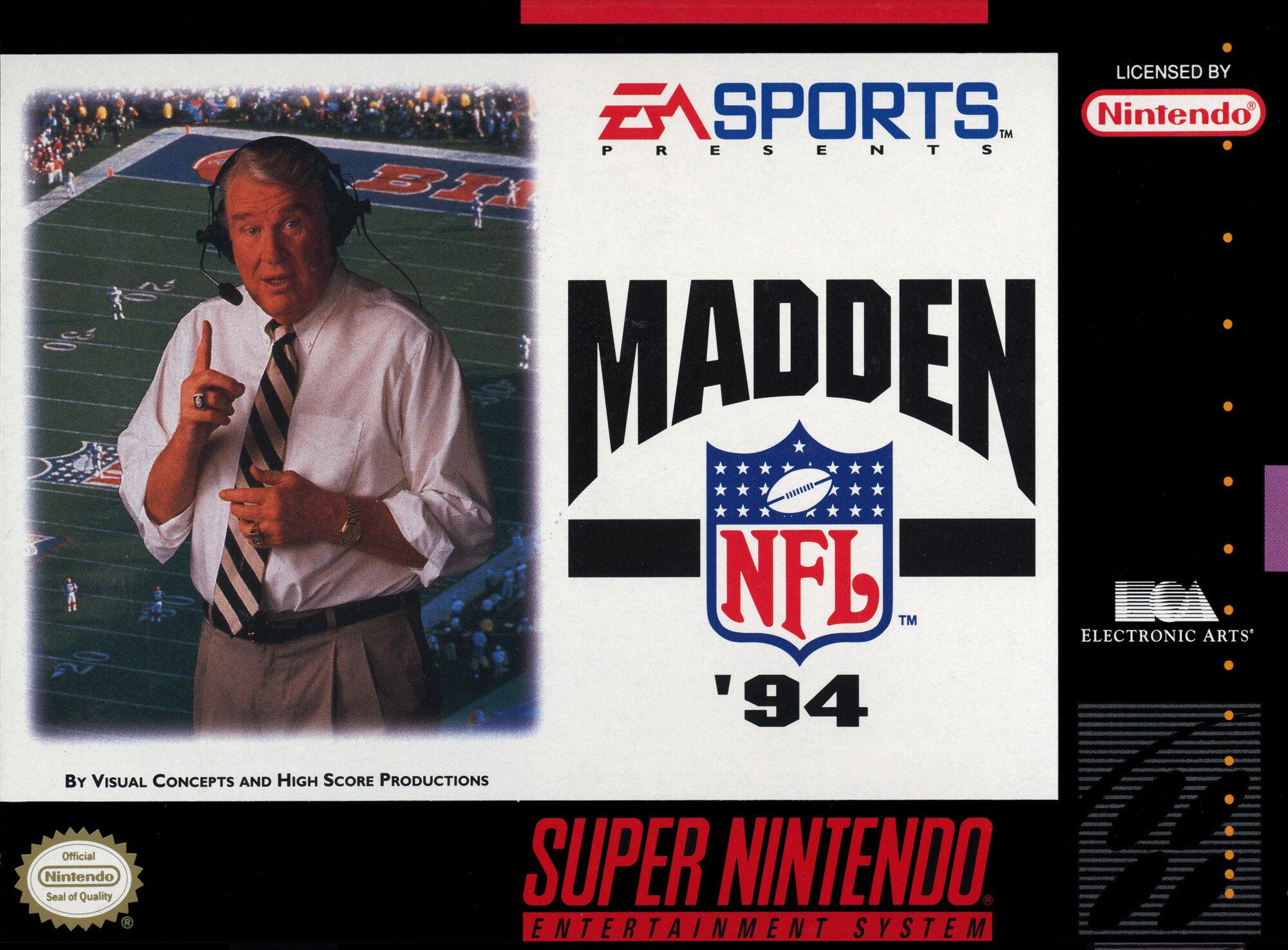 Resultado de imagem para Madden NFL '94