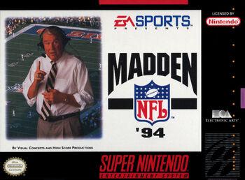 Madden NFL '94 SNES