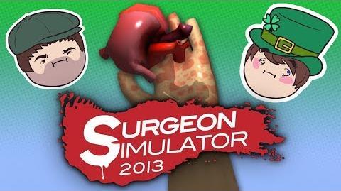 Surgeon Simulator 2013 - Steam Train