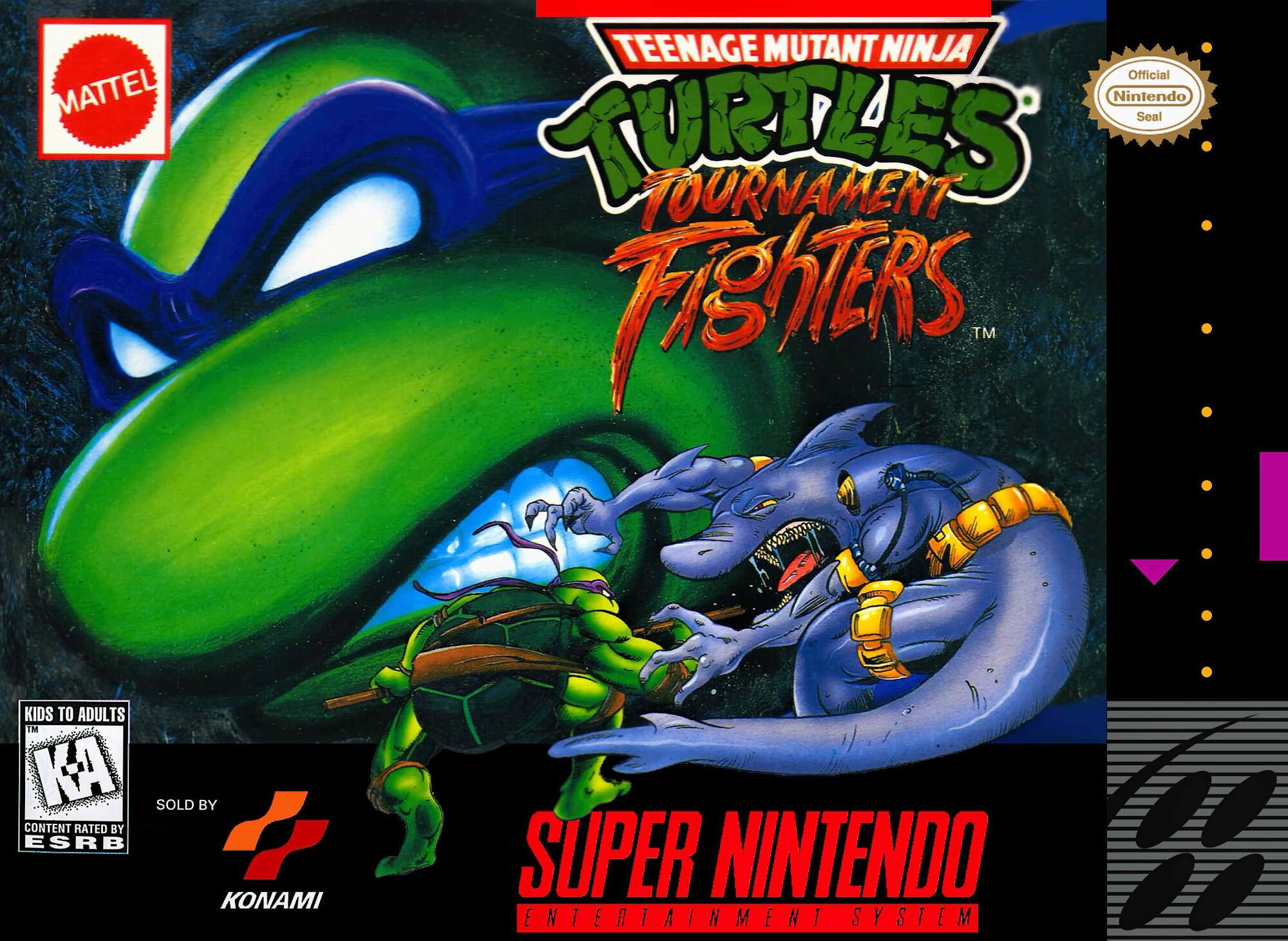 Teenage Mutant Ninja Turtles: Tournament Fighters | Game