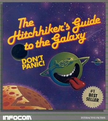 Hitchhiker's guide to the galaxy the adventure game.   science.