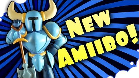 NEW Shovel Knight Amiibo!! - GrumpOut