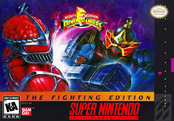 MightyMorphinPowerRangersTheFightingEditionCover