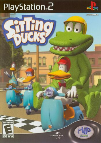 Sitting Ducks PS2 Cover