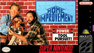 Home Improvement SNES Box