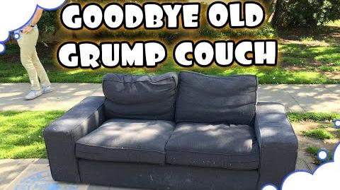 Goodbye Old Grump Couch!