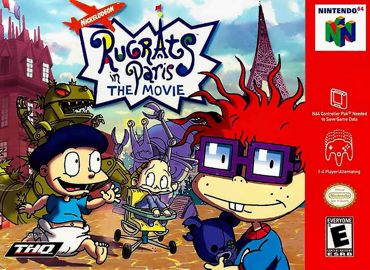 Rugrats In Paris The Movie Game Grumps Wiki Fandom Powered By Wikia