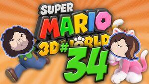 Super Mario 3D World Part 34 - Double Baby Peach Flavor