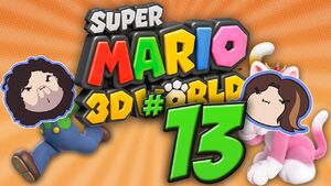 Super Mario 3D World Part 13 - Snake Ate Plate