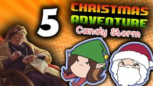 Christmas Adventure Candy Storm Part 5