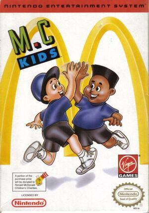 M.C. Kids Boxart