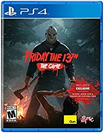 Friday the 13th PS4 Cover