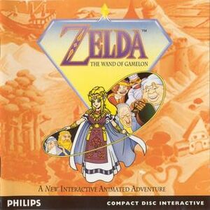 Zelda The Wand of Gamelon
