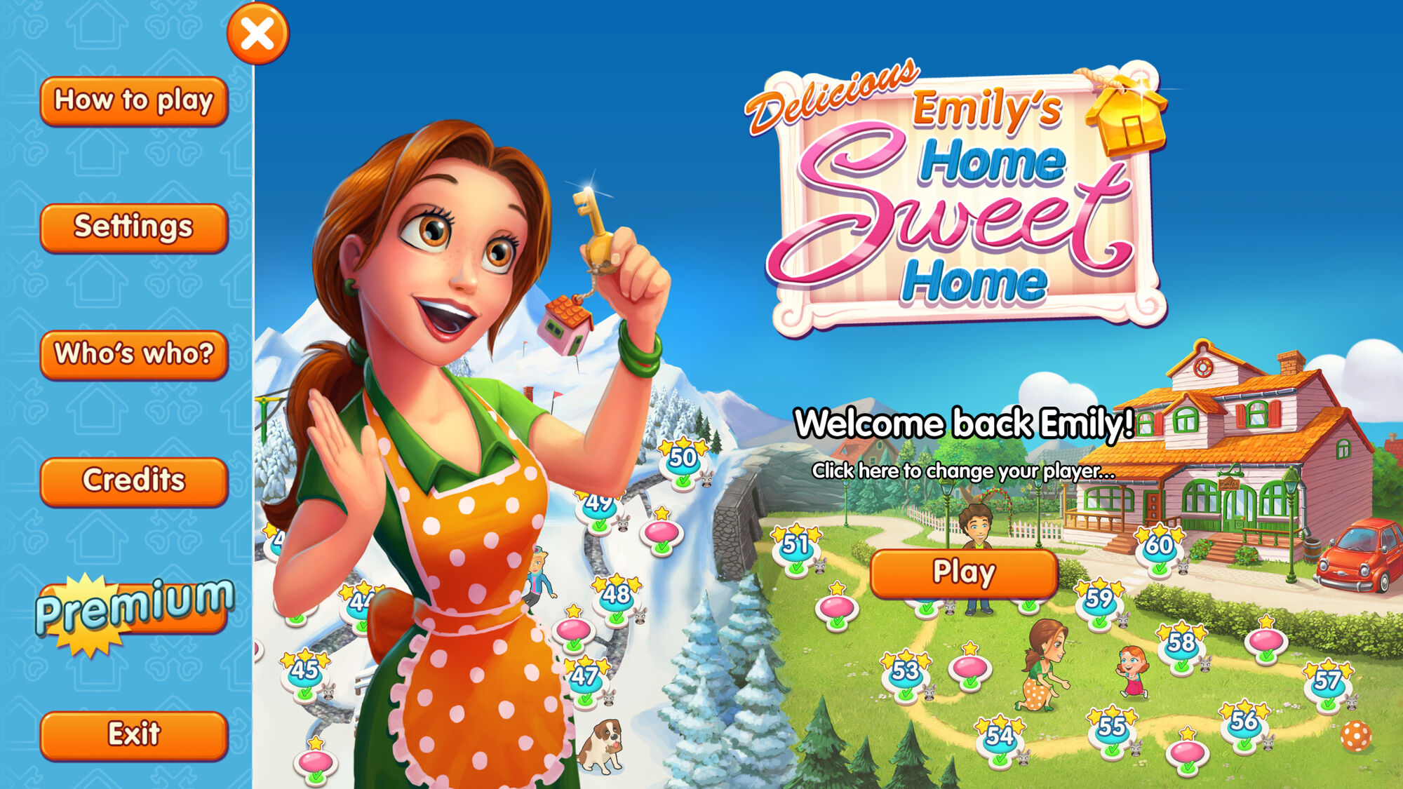 Delicious: Emily's Home Sweet Home | Gamehouse Official ...