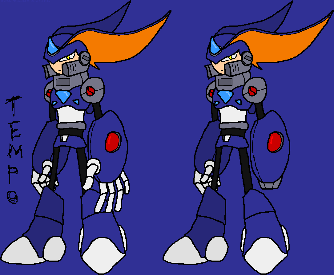 Megaman tempo character gallery game ideas wiki fandom - Megaman wikia ...