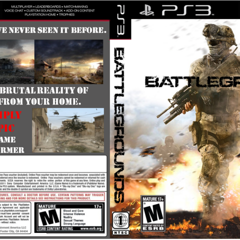 The full game cover for the PlayStation 3 version.