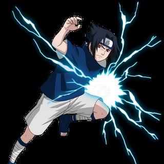 Sasuke in Naruto
