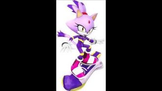 Sonic Riders Velocity - Blaze The Cat Unused Voice Clips