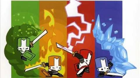 Castle Crashers Forest Theme Space Pirates