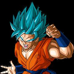 SSJ Blue Goku
