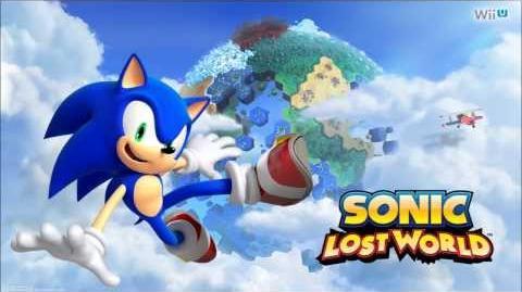 """Sonic Lost World """"Desert Ruins Zone Act 2 (Honeycomb Highway)"""" Music"""