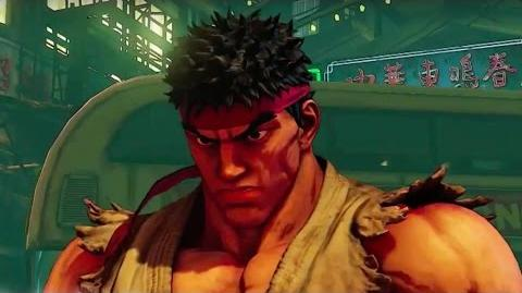 Street Fighter V - Character Official Launch Trailer