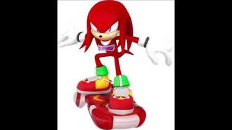 Sonic Riders Velocity - Knuckles The Echidna Unused Voice Clips