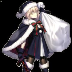 Santa Saber Alter