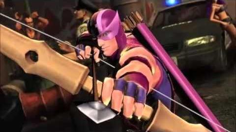 CPS2 Originals, Hawkeye's theme