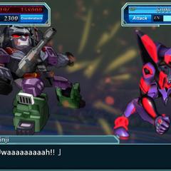 EVA 01 (Awakened) vs. Megatron