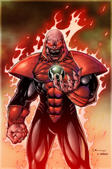 Atrocitus by c crainey colored by dany morales-d5dhgio