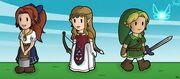 The Legend of Paper Zelda