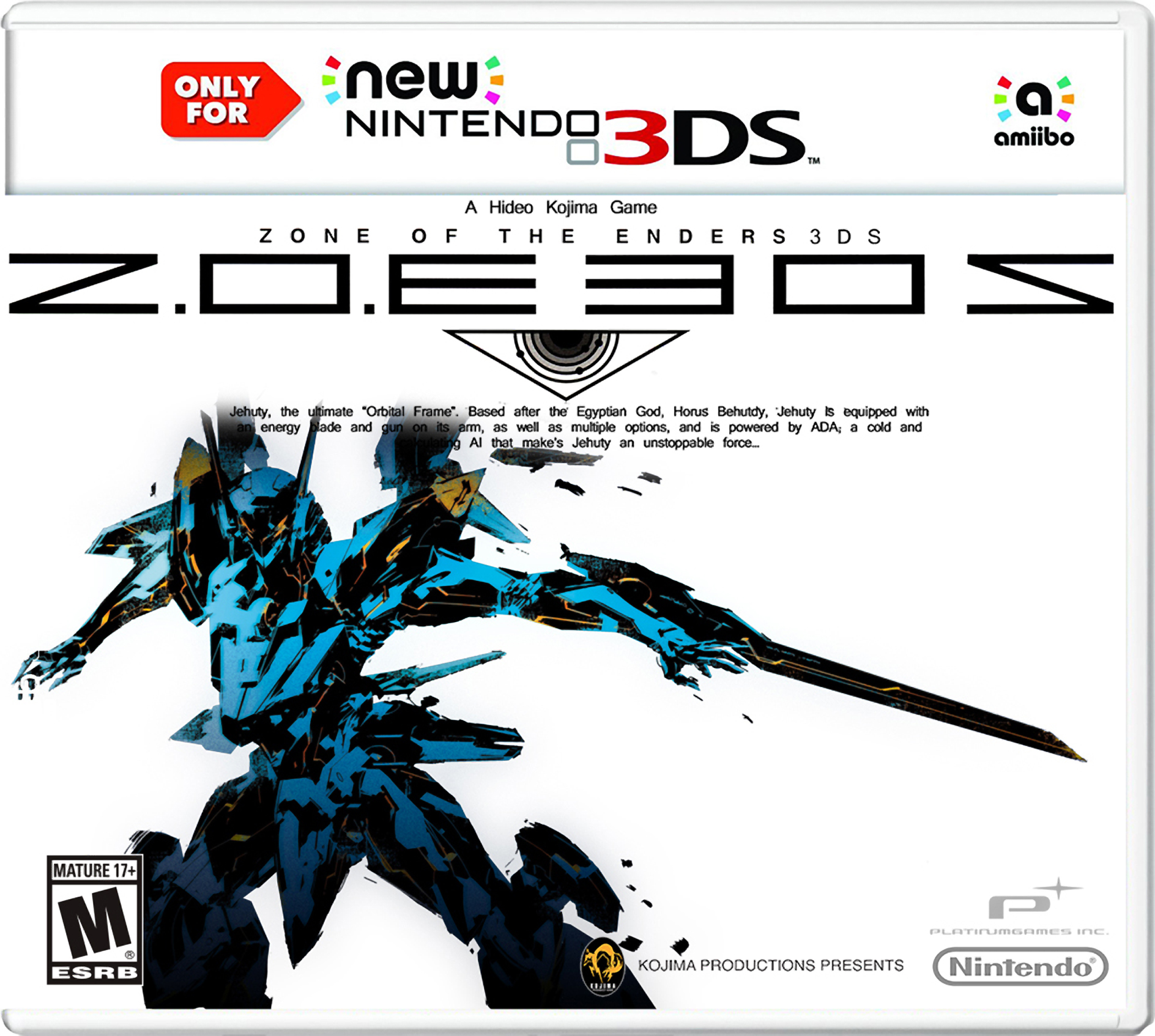 Z O E 3DS: Zone of The Enders   Game Ideas Wiki   FANDOM