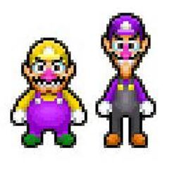 Possible sprites for the Wario Bros.