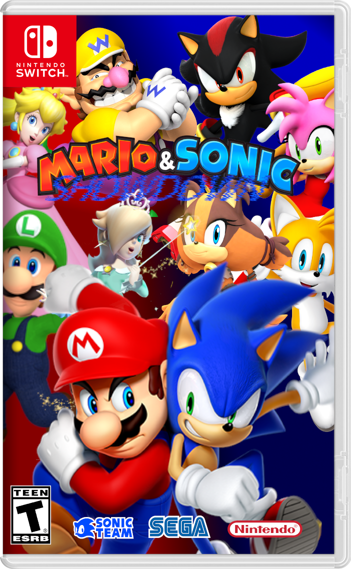 Mario Vs Sonic Games