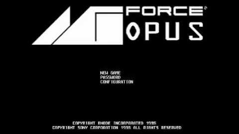MG Force Opus (3DO PS1) - Full Soundtrack-0