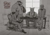 The Smoke Room Cast