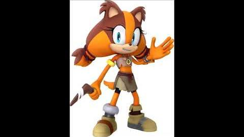 Sonic Boom Video Game - Sticks The Badger Voice