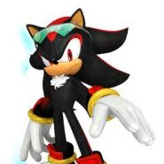Shadow the Hedgehog from Sonic Free Riders.