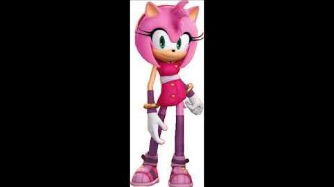 Sonic Boom Video Game - Amy Rose Voice